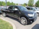 2010 Black Toyota Tundra Limited Double Cab 4x4 #81288555