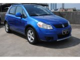 2007 Techno Blue Metallic Suzuki SX4 Convenience AWD #81288463