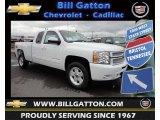 2013 Summit White Chevrolet Silverado 1500 LT Extended Cab 4x4 #81288458