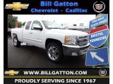 2013 Summit White Chevrolet Silverado 1500 LT Extended Cab #81288457