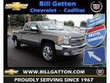 2013 Graystone Metallic Chevrolet Silverado 1500 LT Extended Cab #81288456