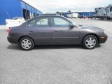 Midnight Gray Hyundai Elantra in 2003