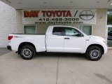 2013 Super White Toyota Tundra TRD Rock Warrior Double Cab 4x4 #81287844