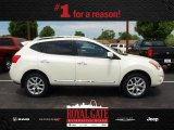 2013 Pearl White Nissan Rogue SV AWD #81287832