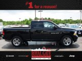 2012 Black Dodge Ram 1500 Express Quad Cab 4x4 #81287830