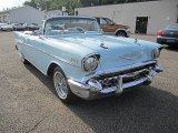 1957 Chevrolet Bel Air Larkspur Blue