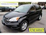 2010 Crystal Black Pearl Honda CR-V EX AWD #81287917
