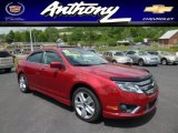 2011 Red Candy Metallic Ford Fusion Sport AWD #81288508