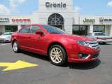 2010 Red Candy Metallic Ford Fusion SEL V6 #81288067