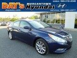 2013 Indigo Night Blue Hyundai Sonata SE #81288420