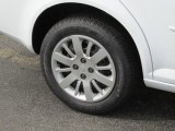 2010 Chevrolet Cobalt LS Sedan Wheel