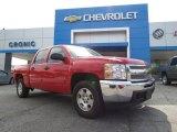2013 Victory Red Chevrolet Silverado 1500 LT Crew Cab #81288155