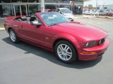 2005 Redfire Metallic Ford Mustang GT Premium Convertible #81349217
