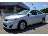2013 Classic Silver Metallic Toyota Camry LE #81349001