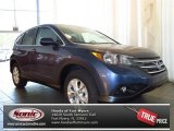 2013 Twilight Blue Metallic Honda CR-V EX #81348808