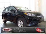 2013 Crystal Black Pearl Honda CR-V LX #81348807
