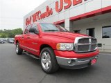 2002 Flame Red Dodge Ram 1500 ST Quad Cab #81348901