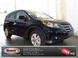 2013 Crystal Black Pearl Honda CR-V EX #81348804