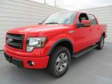 Race Red Ford F150 in 2013