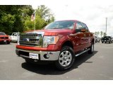 2013 Ruby Red Metallic Ford F150 XLT SuperCrew 4x4 #81349303