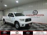 2010 Super White Toyota Tundra SR5 Double Cab #81348898