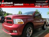 2012 Deep Cherry Red Crystal Pearl Dodge Ram 1500 Express Regular Cab #81348987