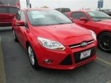 2012 Race Red Ford Focus SEL Sedan #81348891