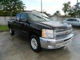 2012 Black Chevrolet Silverado 1500 LT Extended Cab #81349201