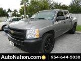 2007 Graystone Metallic Chevrolet Silverado 1500 Crew Cab #81349199