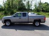 2009 Graystone Metallic Chevrolet Silverado 1500 LT Extended Cab 4x4 #81349473