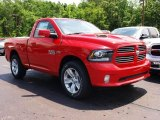 2013 Ram 1500 Flame Red