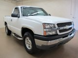 2003 Summit White Chevrolet Silverado 1500 LS Regular Cab 4x4 #81348779