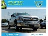 2013 Silver Ice Metallic Chevrolet Silverado 1500 LT Crew Cab #81349280