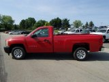 2013 Victory Red Chevrolet Silverado 1500 Work Truck Regular Cab #81349461