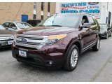 2011 Bordeaux Reserve Red Metallic Ford Explorer XLT 4WD #81349386