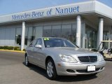2004 Brilliant Silver Metallic Mercedes-Benz S 500 4Matic Sedan #8103104