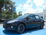2013 Tuxedo Black Ford Focus SE Sedan #81348932