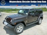 2013 Rugged Brown Pearl Jeep Wrangler Unlimited Sahara 4x4 #81349047