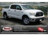 2013 Super White Toyota Tundra CrewMax 4x4 #81348758