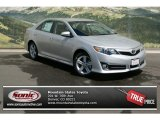 2013 Classic Silver Metallic Toyota Camry SE #81348752