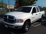 2005 Bright White Dodge Ram 1500 SLT Quad Cab 4x4 #81349157