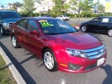 2010 Red Candy Metallic Ford Fusion SE #81349155