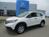 2013 White Diamond Pearl Honda CR-V LX AWD #81349350