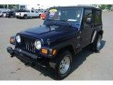 2005 Jeep Wrangler Patriot Blue Pearl