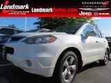 2008 White Diamond Pearl Acura RDX Technology #81403488