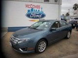2011 Steel Blue Metallic Ford Fusion SEL V6 #81403393