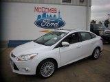 2012 Oxford White Ford Focus SEL Sedan #81403391
