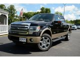 2013 Kodiak Brown Metallic Ford F150 Lariat SuperCrew 4x4 #81403747