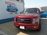 2013 Ruby Red Metallic Ford F150 FX2 SuperCrew #81403357