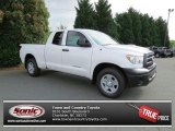 2013 Super White Toyota Tundra Double Cab #81403736